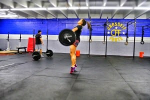 Hang power snatches