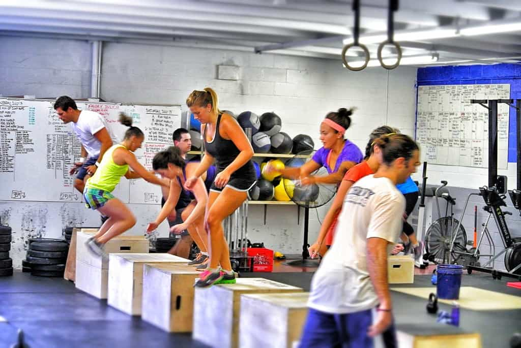 box jumps 3