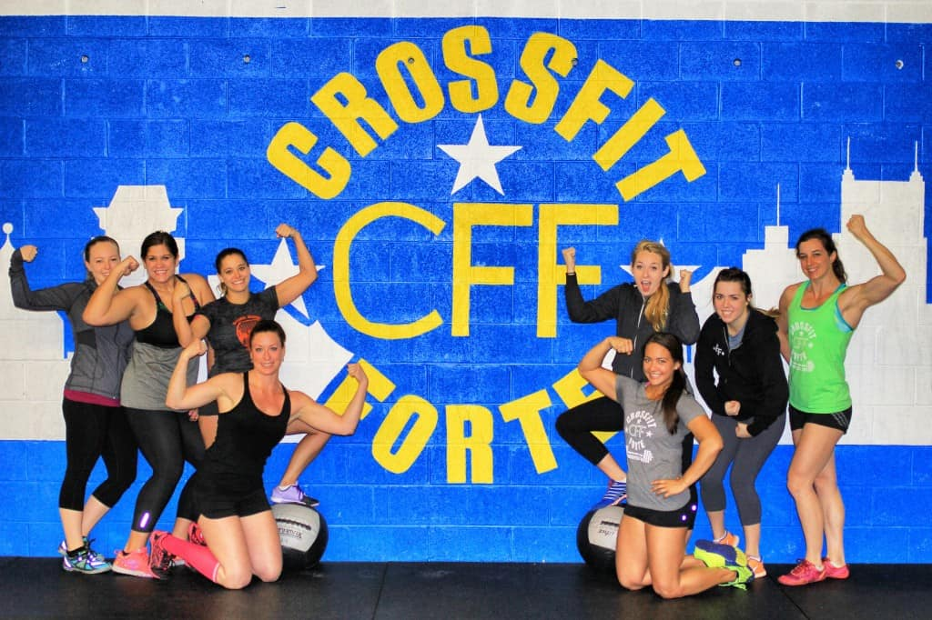 The strong and beautiful women of CrossFit Forte