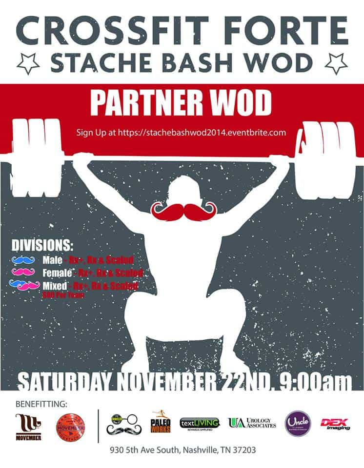 Stache Bash Workout!
