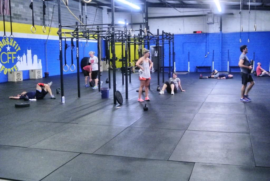 The 6 AM class gets work done.