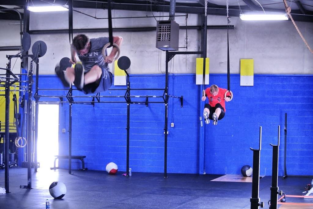 Muscle-ups - Tommy and Matt B.